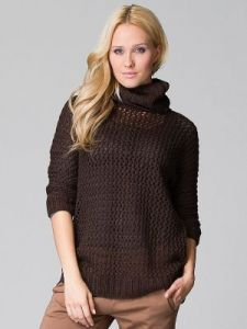 Sweter Model FM39026 Brown