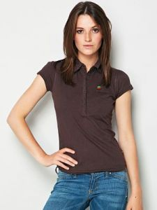 T-shirt Damski Model WL08-37-059 BROWN(BLACK)